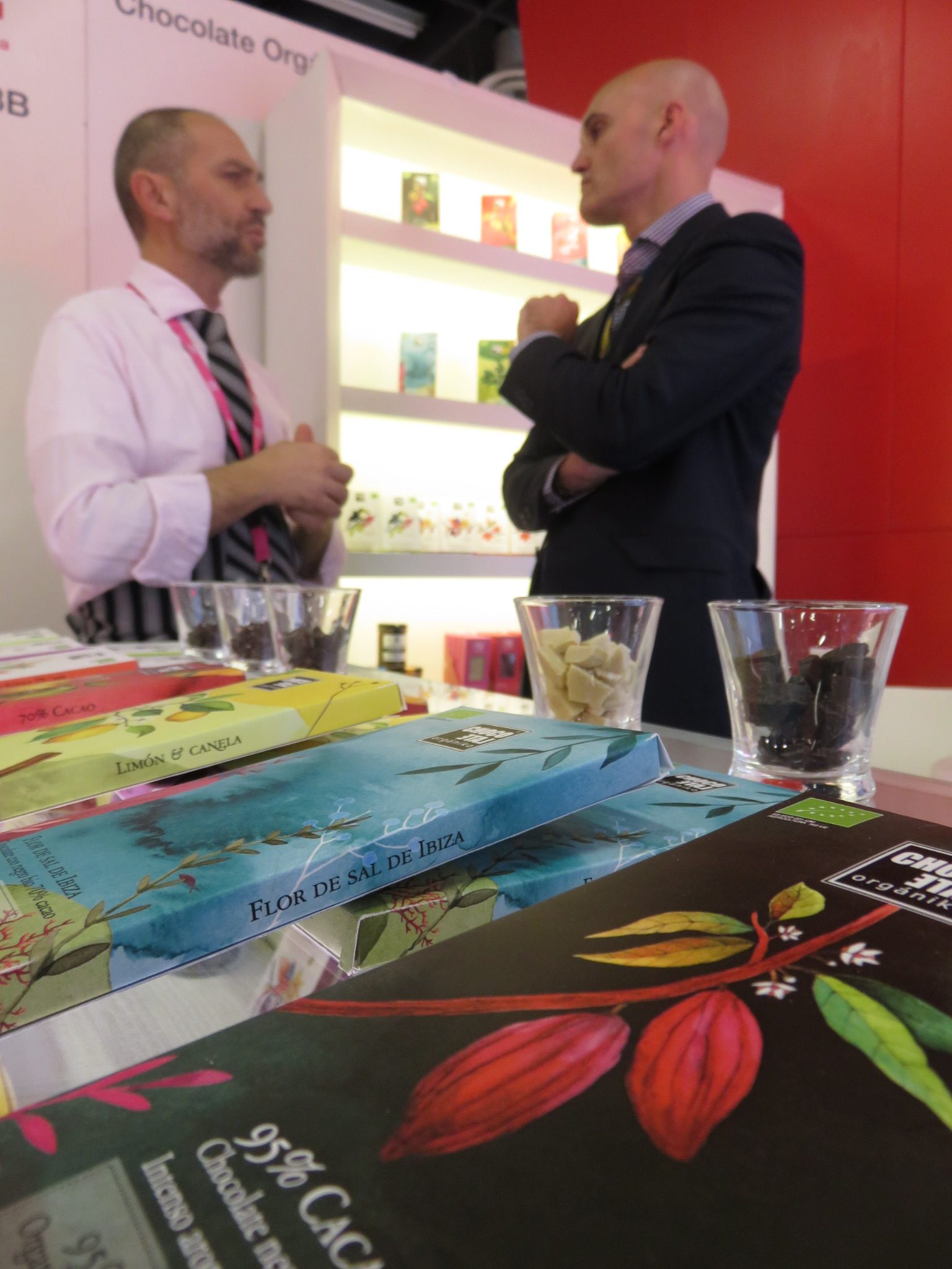 LoRUSSo at the Confectionery Fair in Cologne, Germany