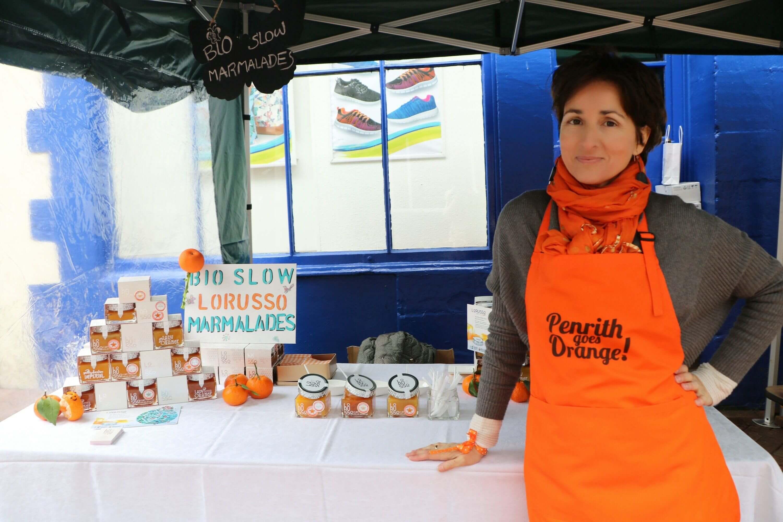 Mermeladas artesamas en el Festival de la Naranja, Inglaterra
