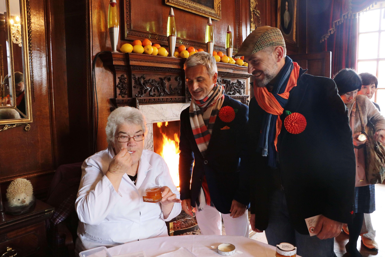 Mermeladas artesanas LoRUSSo con el jurado británico