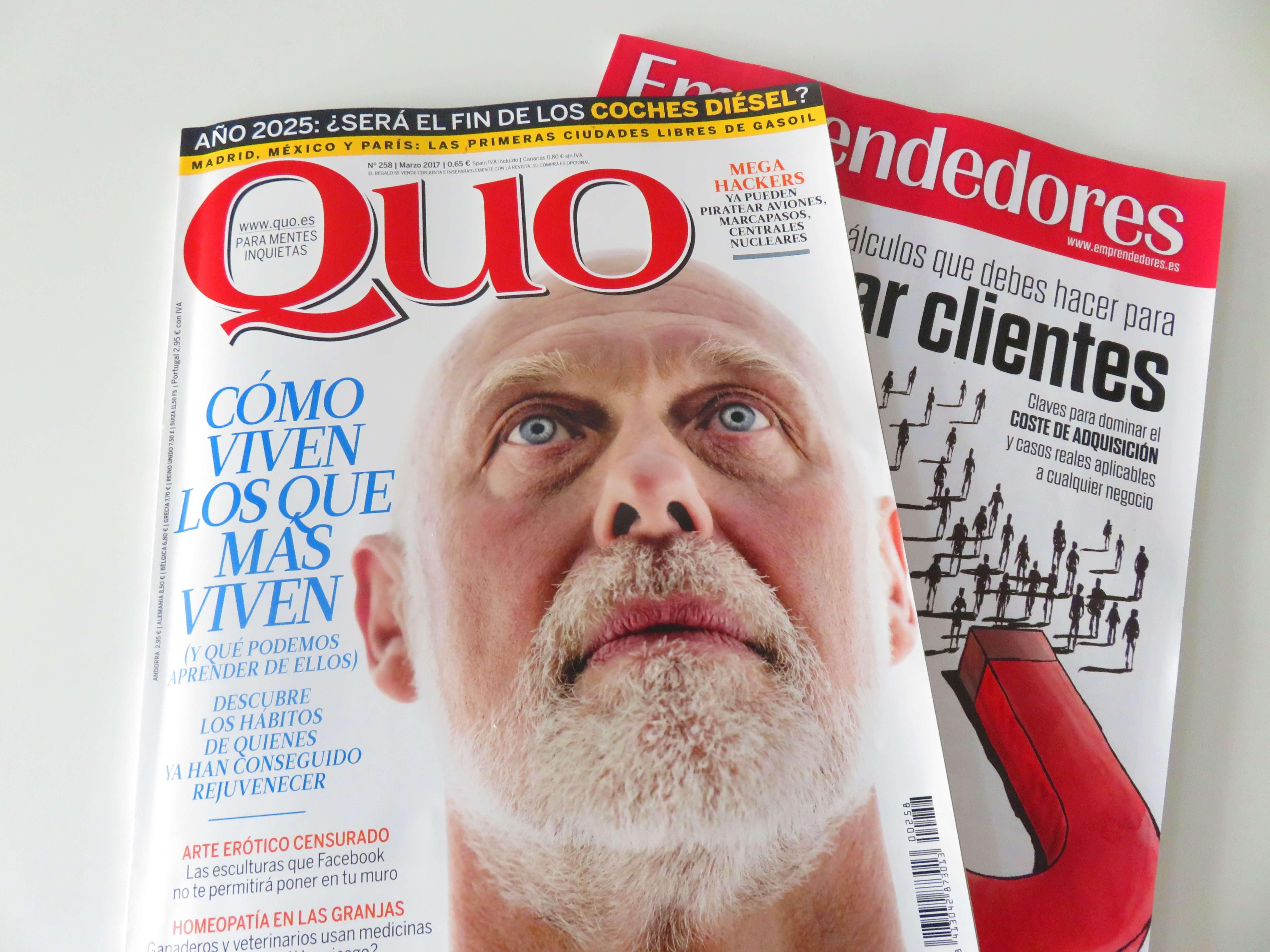 Publicación en la revista QUO mermeladas artesanas LoRUSSo