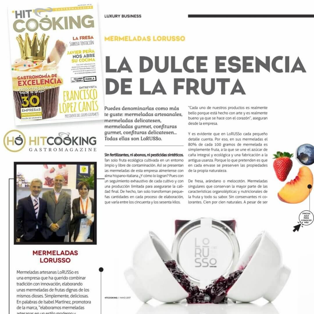 Mermeladas Artesanas LoRUSSo en el Magazine Gastronómico Hitcooking