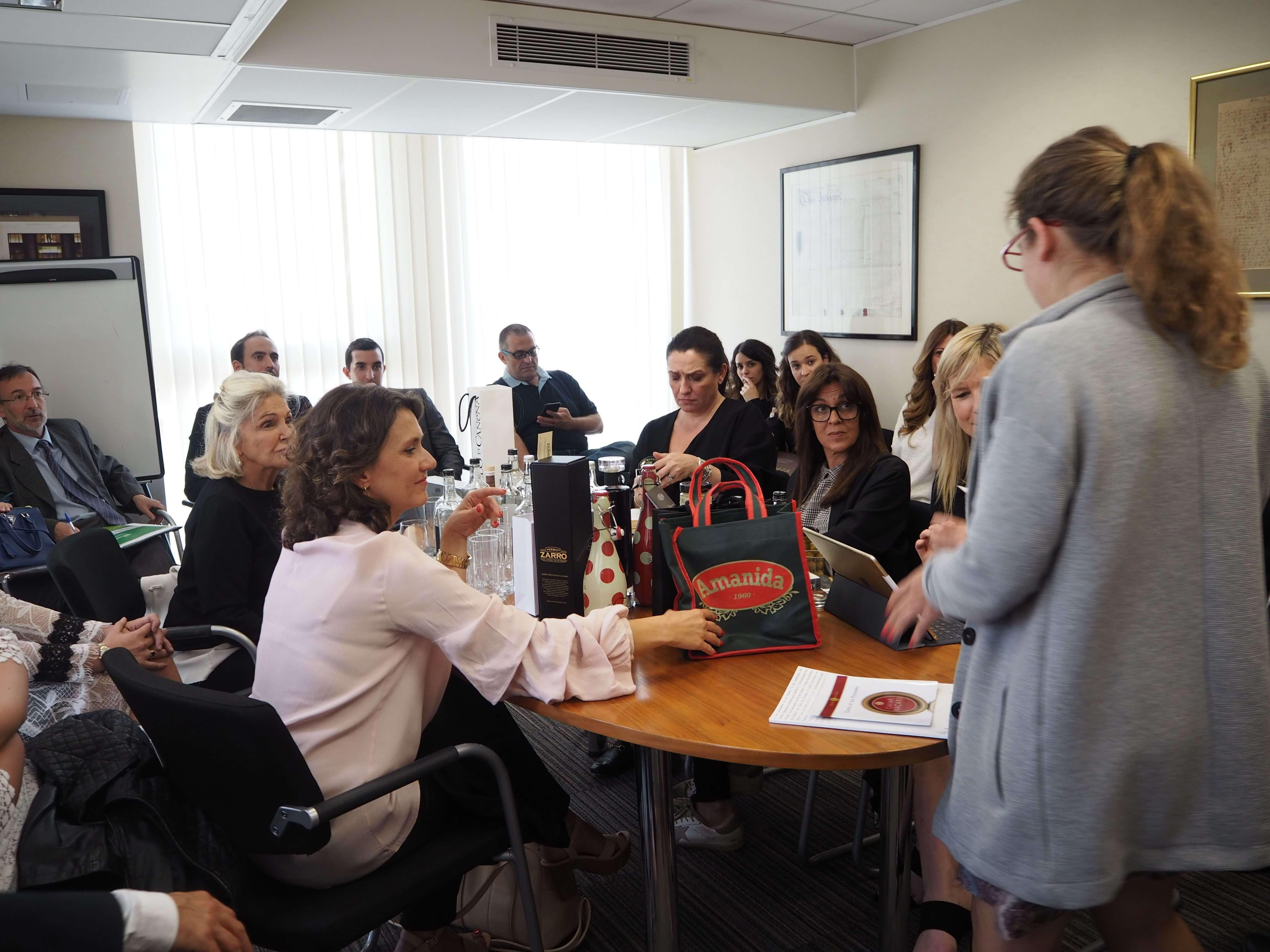 Presentación de mermeladas premium LoRUSSo en Harvey Nichols, Londres