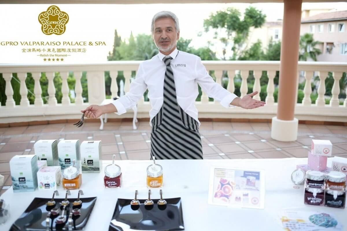 Confituras Ecológicas Premium LoRUSSo en GPRO Valparaíso Palace Hotel & Spa de Mallorca