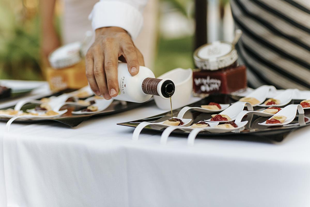 Degustación en la Gala Global Gift de nuestras confituras ecológicas premium