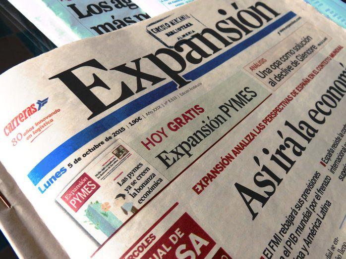 Publicación en el Diario Económico Expansión de nuestras Mermeladas para Regalar
