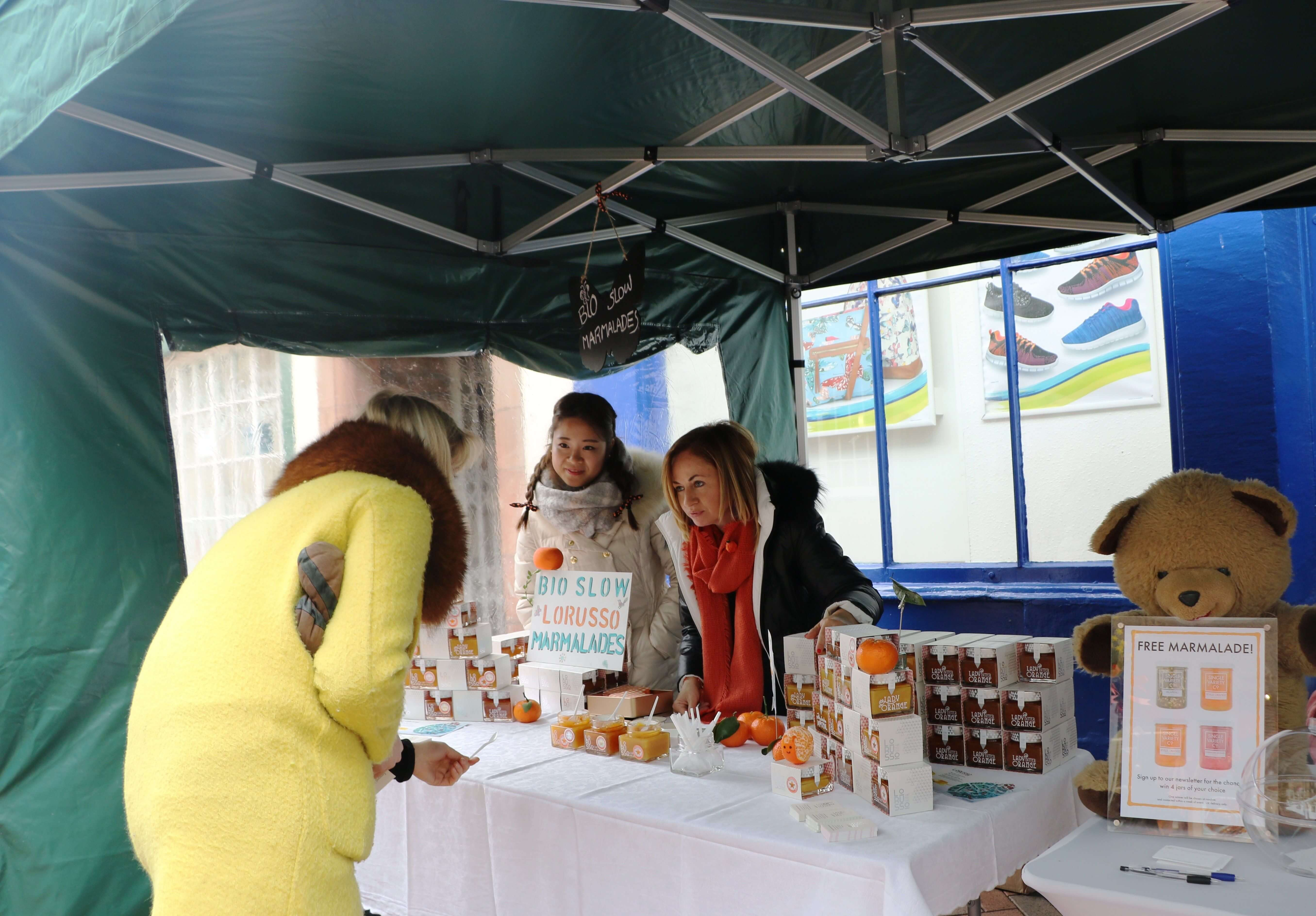 Mermeladas artesanas LoRUSSo en el Festival de Penrith