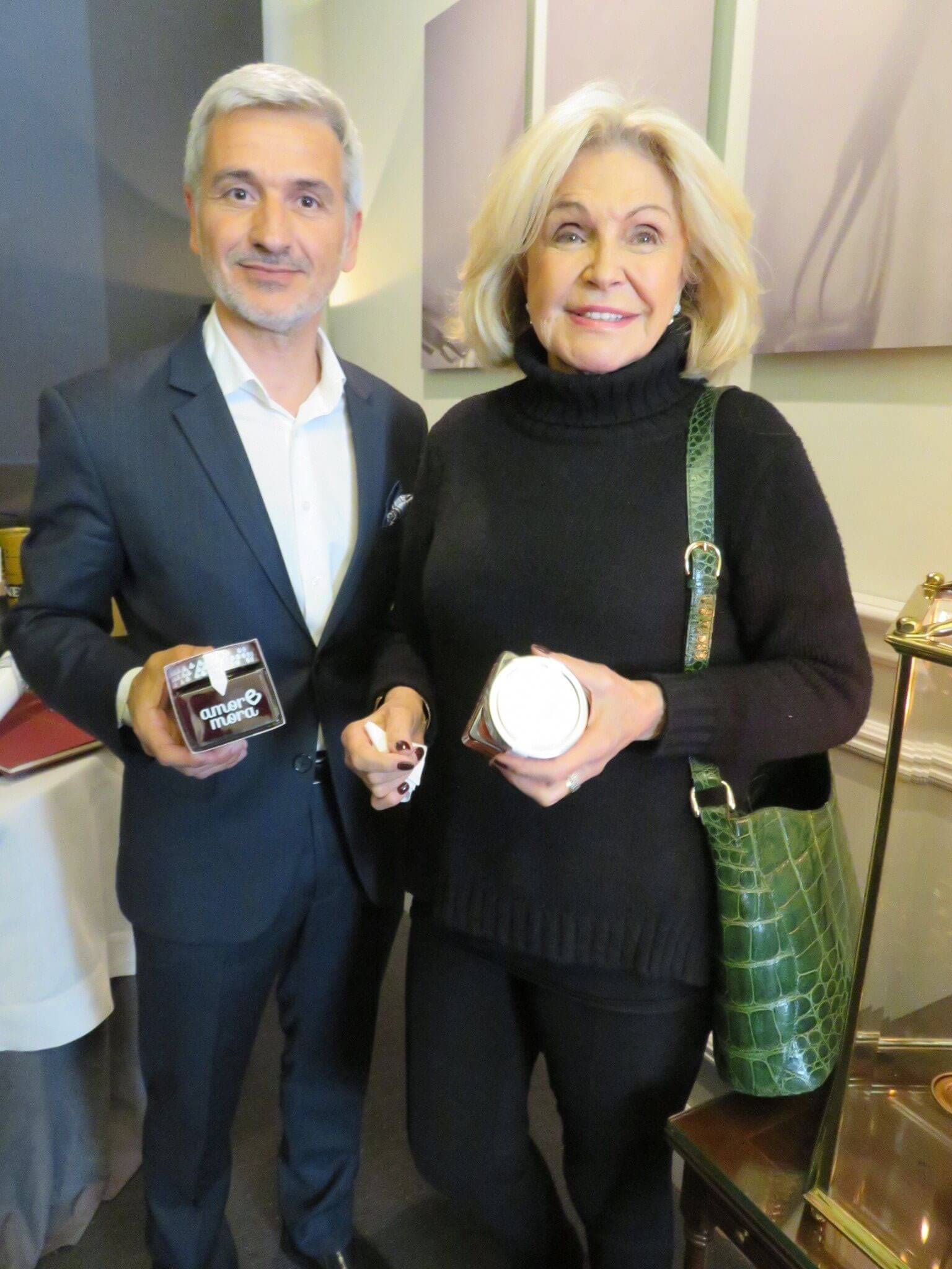 Delicatessen jams LoRUSSo and the Princess Beatriz of Orleans