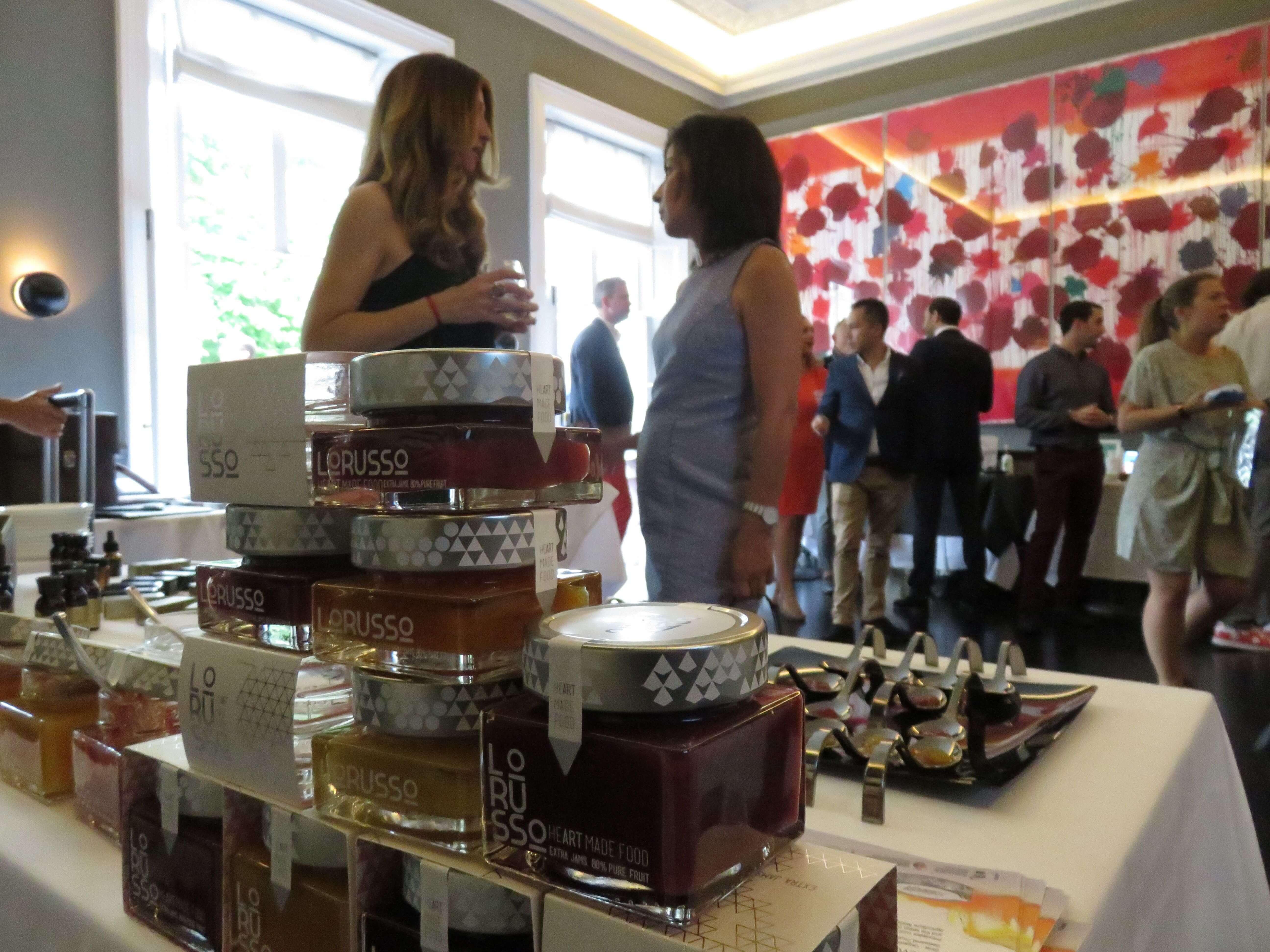 Degustación de nuestras mermeladas premium en el Club Morton´s, Londres