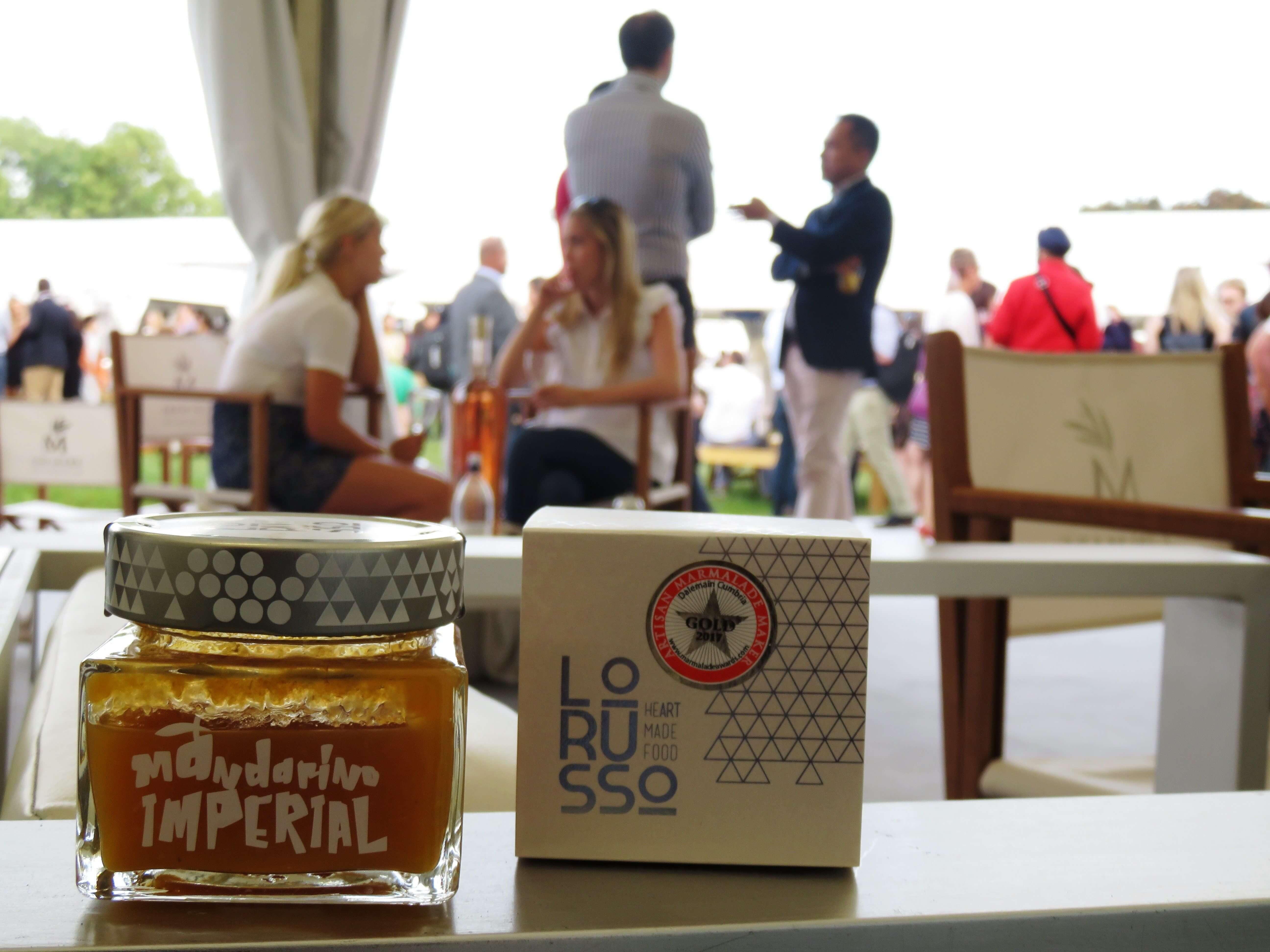 Nuestras mermeladas premium ecológicas en la Feria Taste of Lodon.